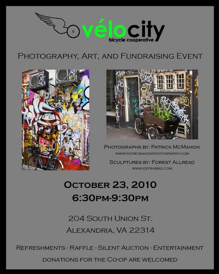VéloCity Art Show Flyer