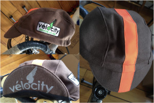 Brown Wool Cycling Caps