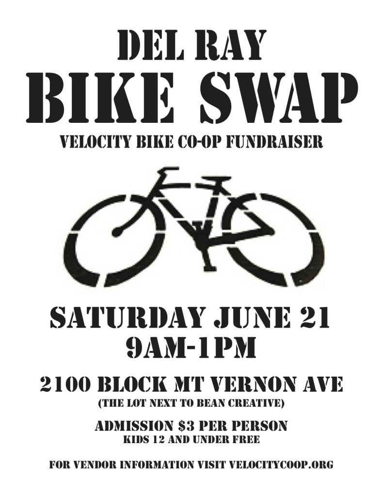 Bike Swap Flyer 2014