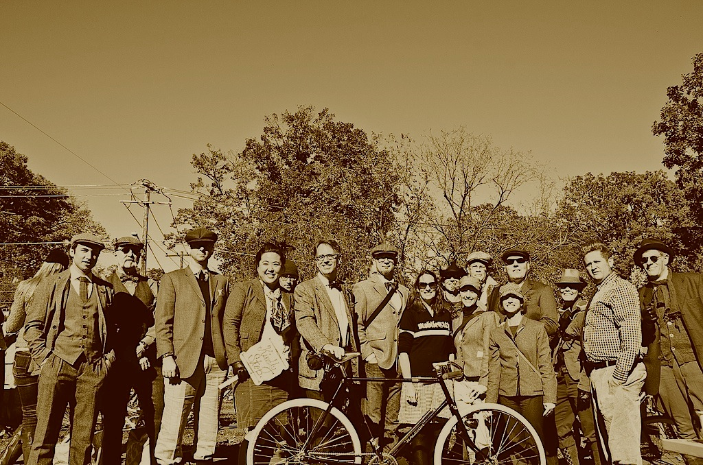 VéloCity and friends at the 2013 Tweed Ride.