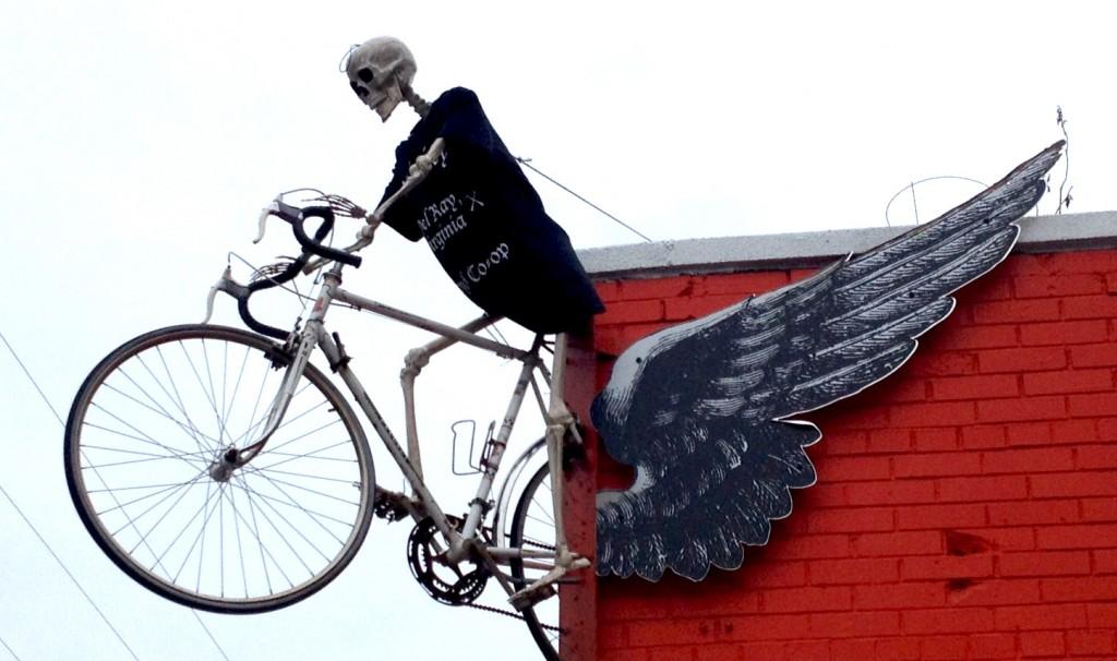 Skelly biker