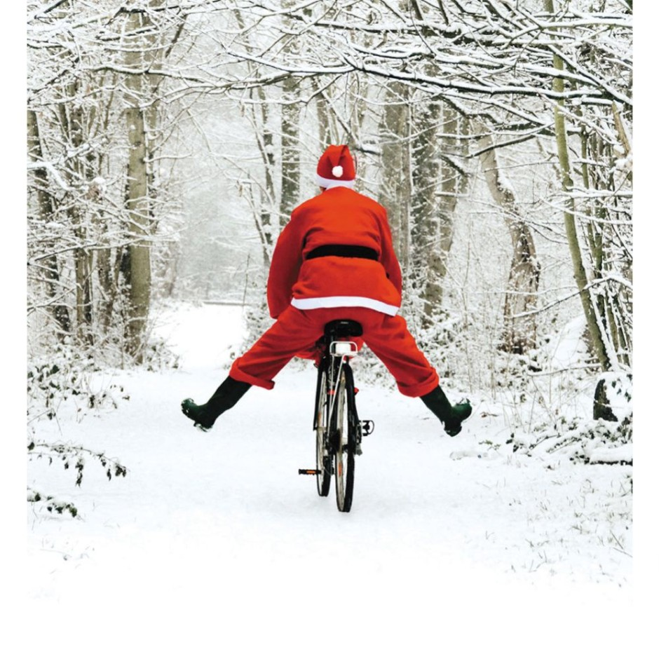 santa-s-new-bike-christmas-cards