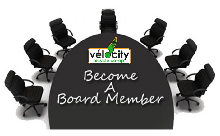 Vélocity Bicycle Cooperative Seeking Board of Director Applicants!