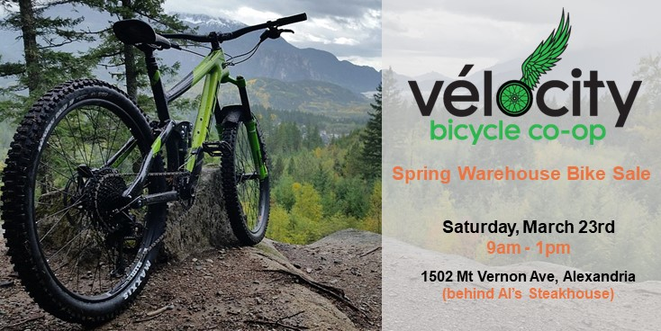 Vélocity Spring Warehouse Bike Sale (Saturday, March 23rd 9am – 1pm)