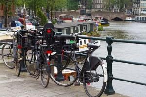 Amsterdam city view