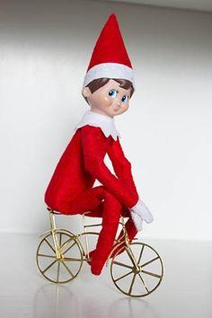 Elf on a bike