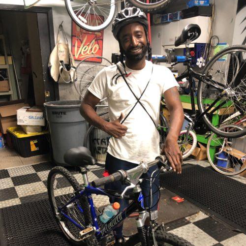 Bike Scholarship Winner