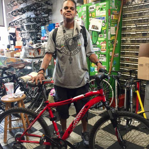 Bike scholarship recipient June 2019